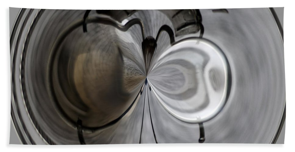 Light Projector Hand Towel featuring the photograph Blown Out Filament by Tikvah's Hope