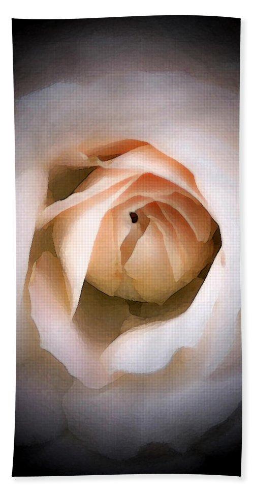 Pink Bath Sheet featuring the photograph Blushing Beauty by Susan McMenamin