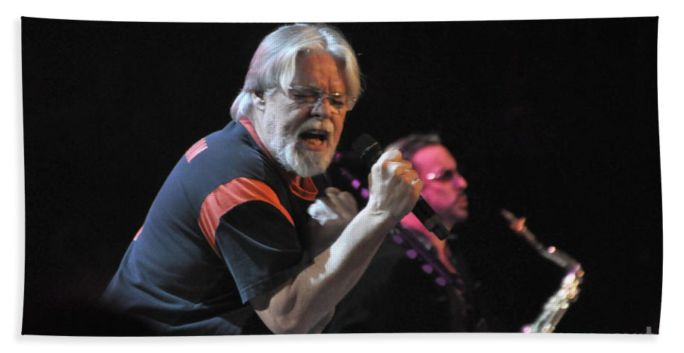 Bob Seger Bath Sheet featuring the photograph Bob Seger 6136 by Gary Gingrich Galleries
