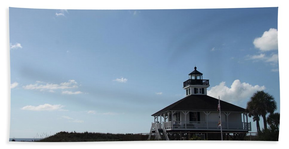 Boca Grande Bath Sheet featuring the photograph Boca Grande At Twiglight by Christiane Schulze Art And Photography