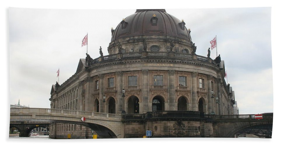 Museum Bath Sheet featuring the photograph Bode Museum - Berlin - Germany by Christiane Schulze Art And Photography