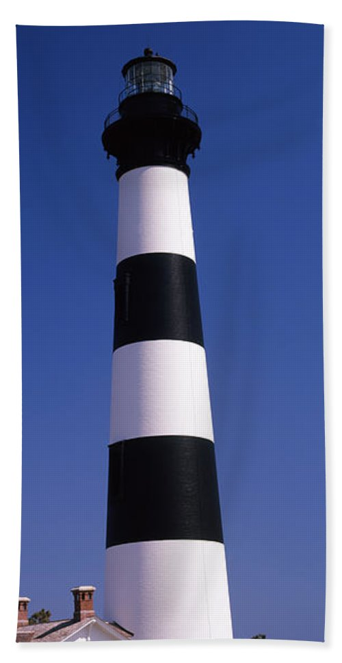 Photography Hand Towel featuring the photograph Bodie Island Lighthouse, Outer Banks by Panoramic Images