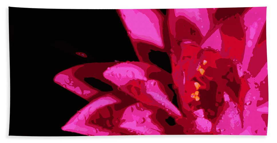 Lily Bath Sheet featuring the photograph Bold Lily by Tina Meador