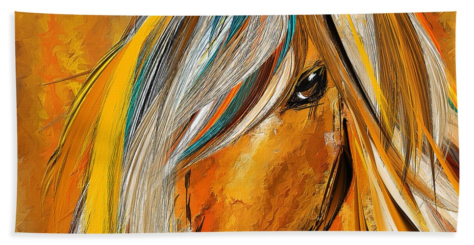Born Free Colorful Horse Paintings