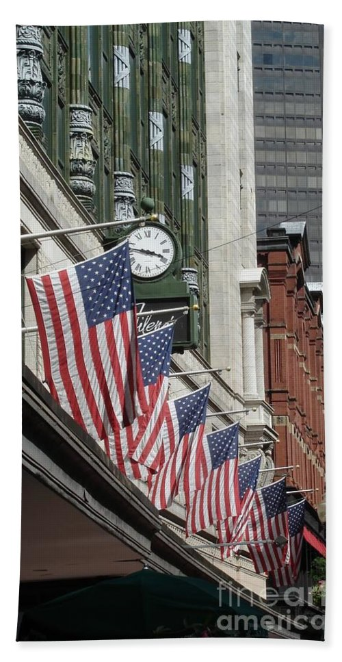 Boston Bath Towel featuring the photograph Boston 4th Of July by Kerri Mortenson