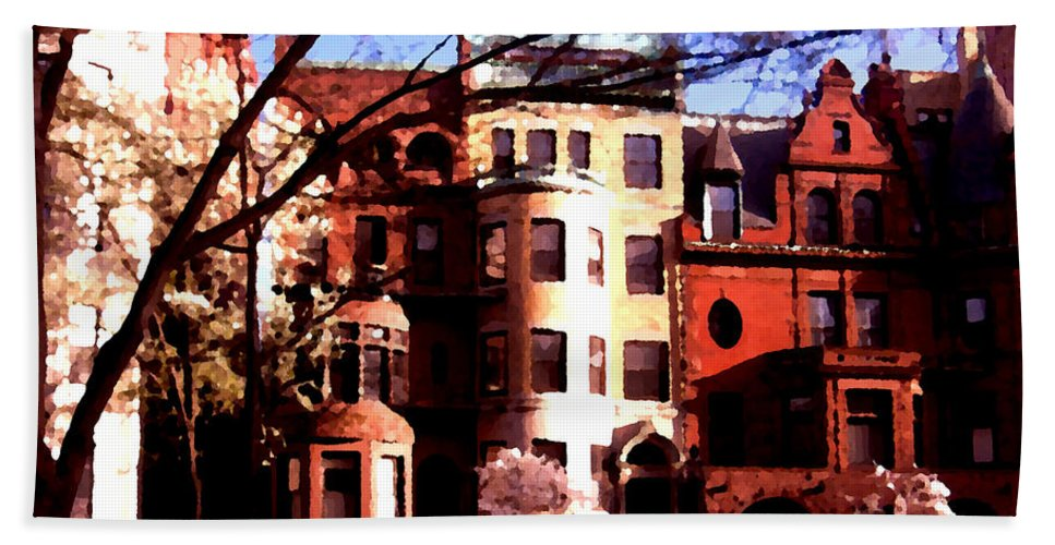 Boston Bath Sheet featuring the photograph Boston Colors Two by Marcello Cicchini