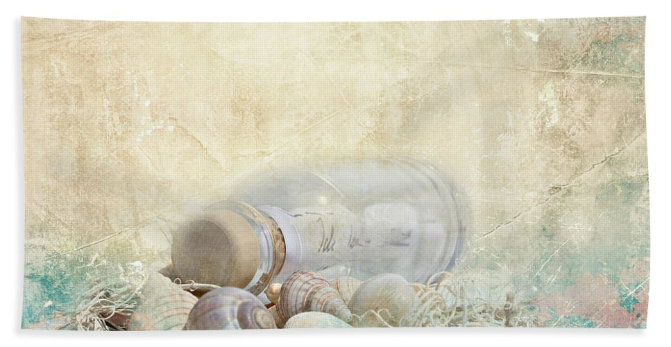 Bottle Bath Sheet featuring the photograph Bottle by Heike Hultsch