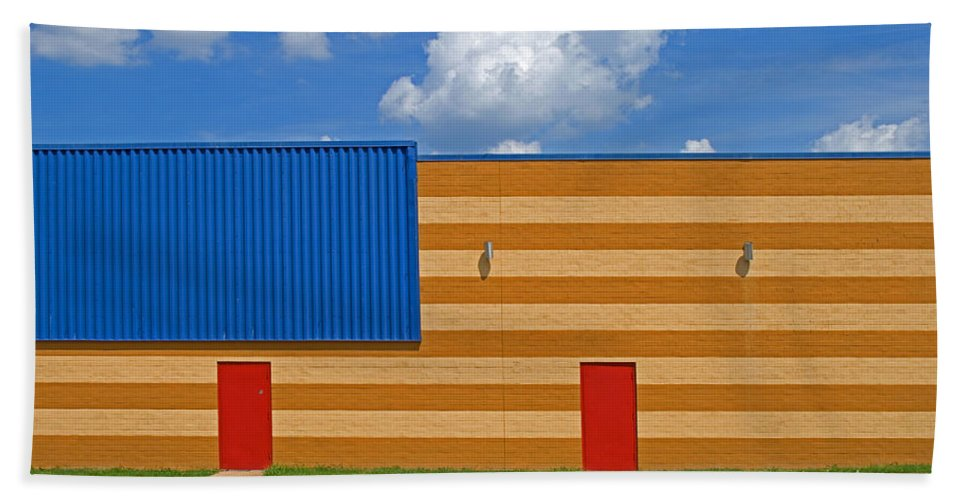 Bowling Alley Hand Towel featuring the photograph Bowling Alley Img 3587 by Greg Kluempers
