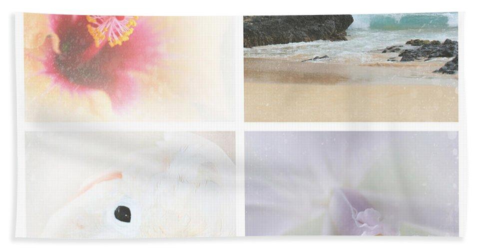 Aloha Bath Towel featuring the photograph Breathe . Feel The Wind . . . by Sharon Mau