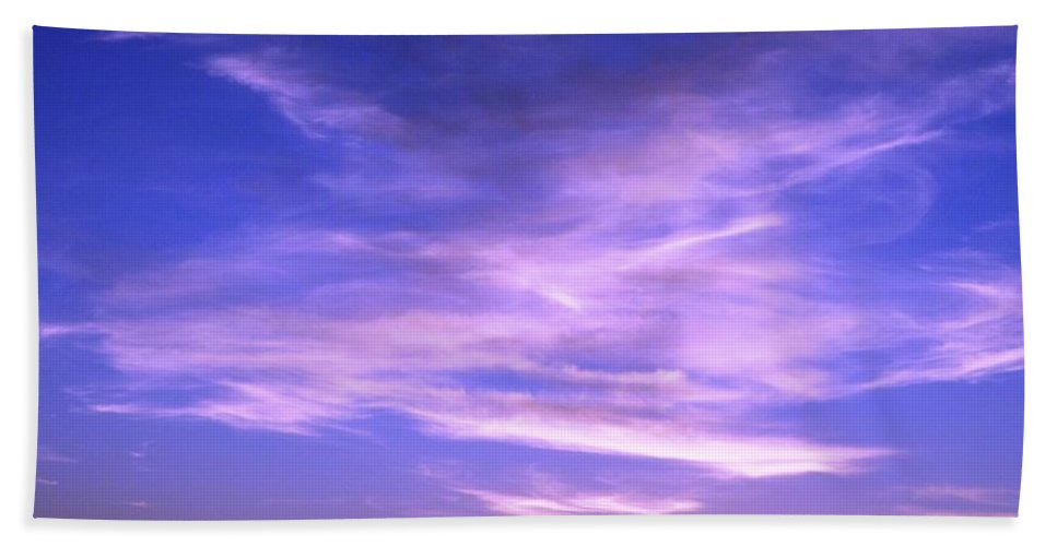 Sunrise Hand Towel featuring the photograph Brilliant Blue Sunrise by Jussta Jussta