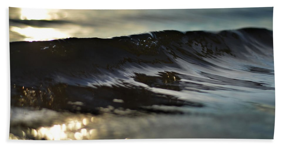 Wave Bath Sheet featuring the photograph Bring It On Home by Laura Fasulo