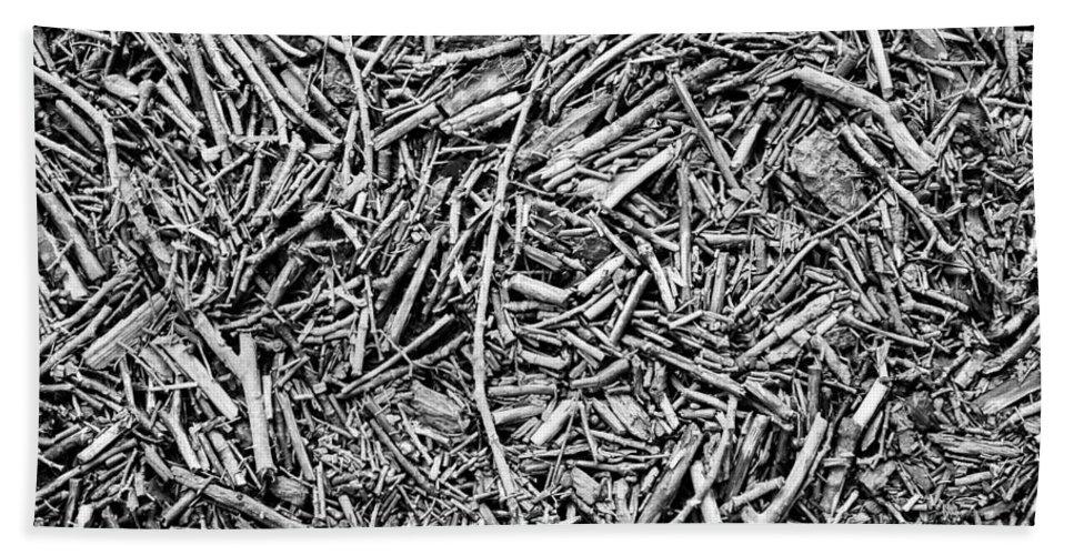 Twigs Bath Sheet featuring the photograph Broken Twigs by Hakon Soreide