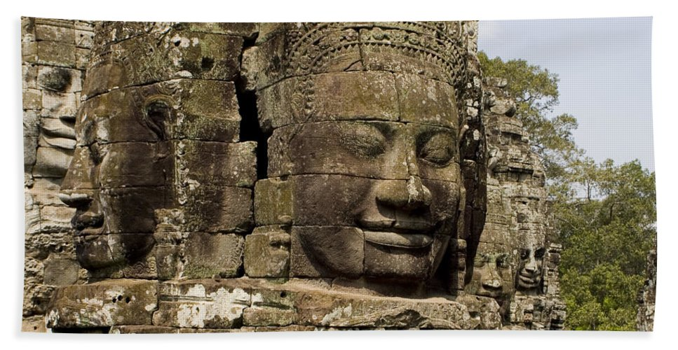 Buddhas Hand Towel featuring the photograph Buddha #2 by J L Woody Wooden