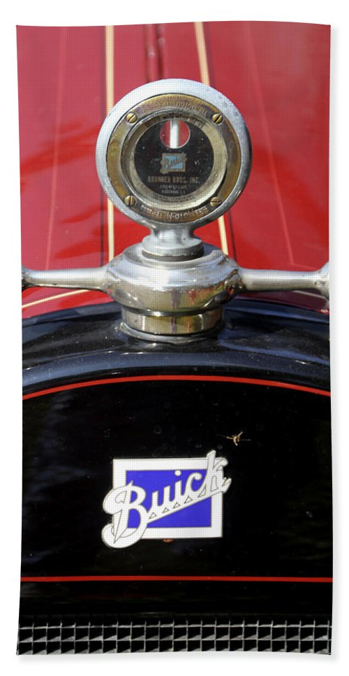 Antique Hand Towel featuring the photograph Buick by Bob Slitzan