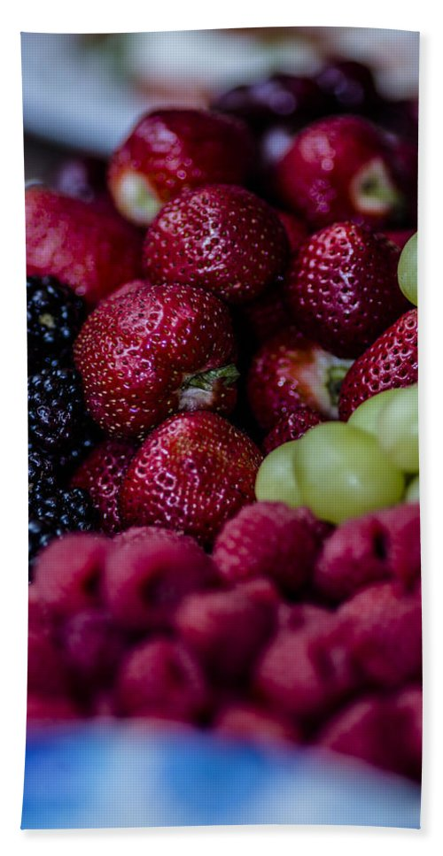 Strawberries Bath Sheet featuring the photograph Bundle Ole Fruit by Stephen Brown