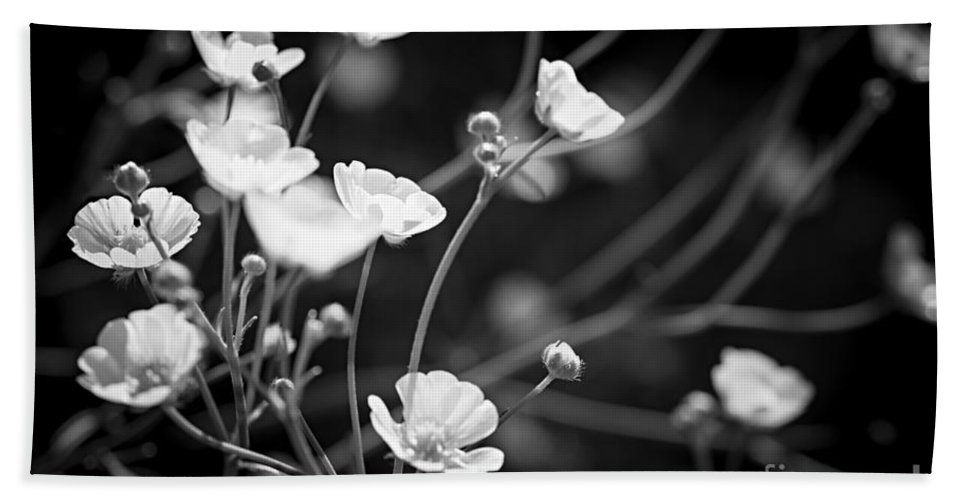 Buttercup Hand Towel featuring the photograph Buttercups by Elena Elisseeva