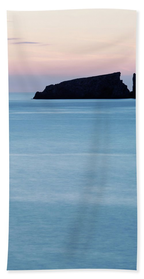 Water Hand Towel featuring the photograph Cala Mesquida On The Island by David Santiago Garcia