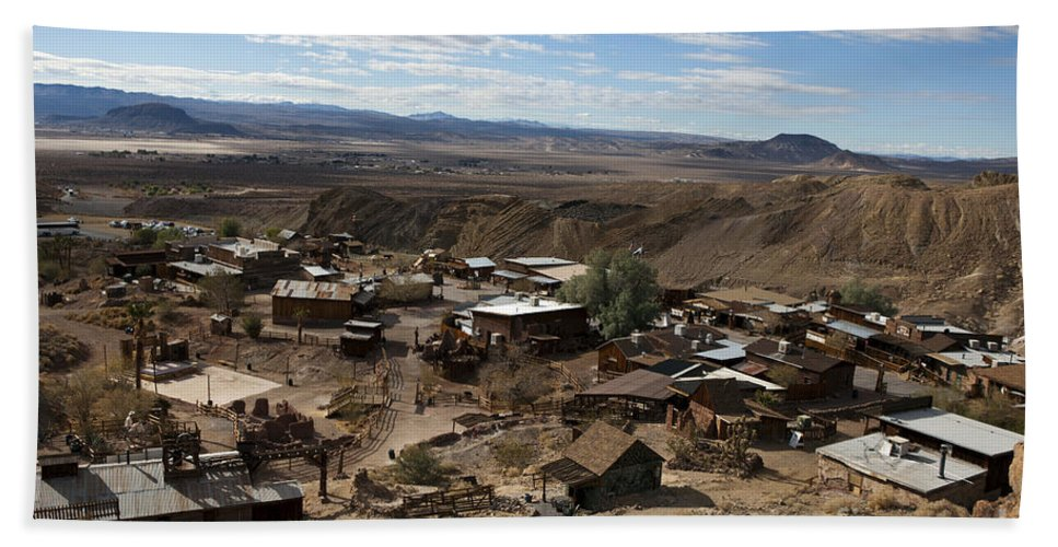 Travel Hand Towel featuring the photograph Calico Ghost Town California by Jason O Watson
