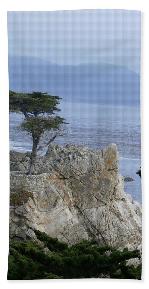 Art Bath Sheet featuring the photograph California Bonsai by T Cook