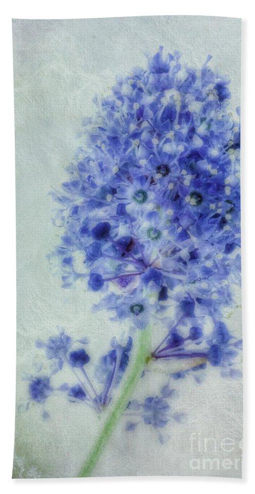 Californian Lilac Bath Sheet featuring the photograph Californian Blue by John Edwards