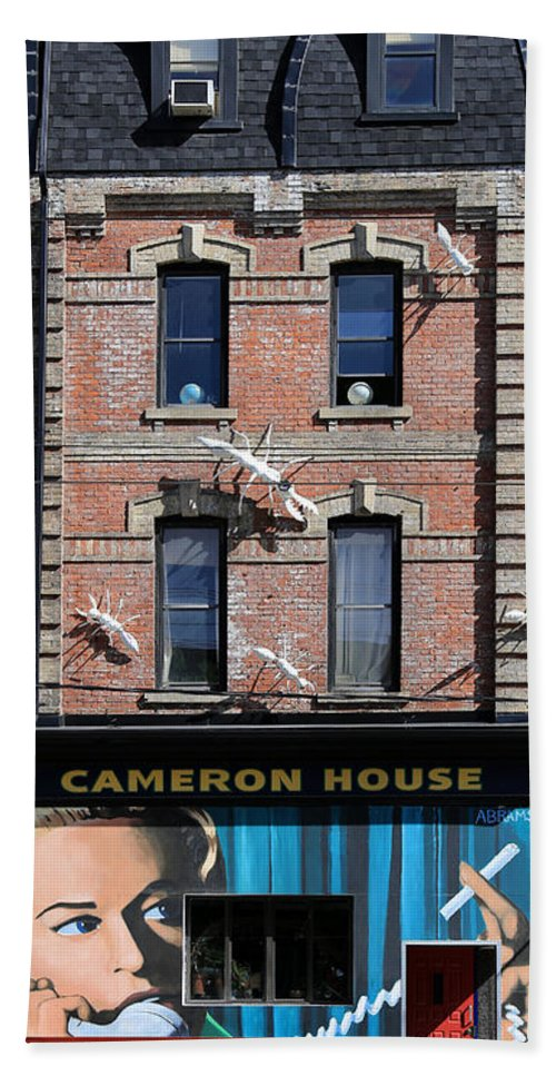 Toronto Hand Towel featuring the photograph Cameron House 2 by Andrew Fare