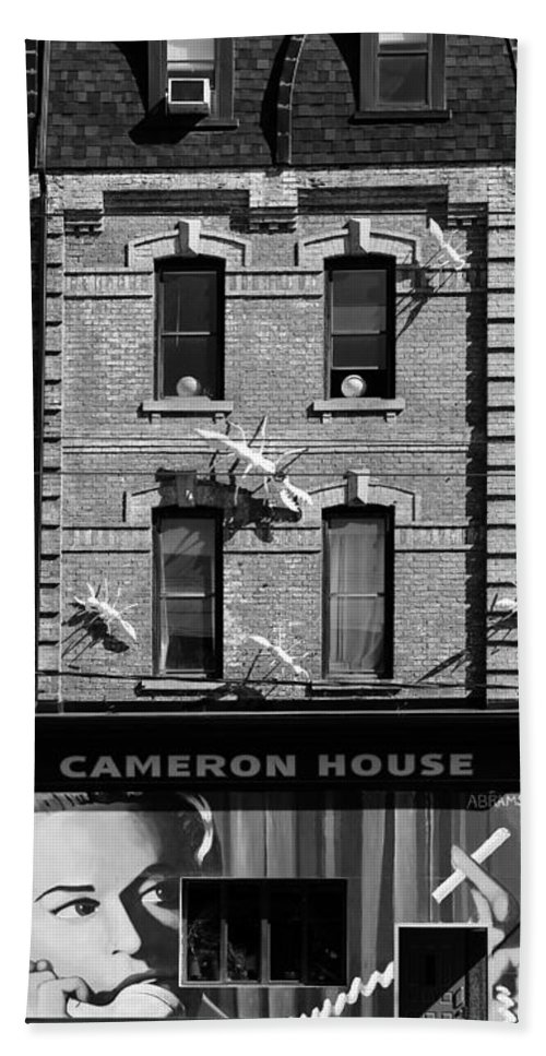 Toronto Hand Towel featuring the photograph Cameron House 2b by Andrew Fare
