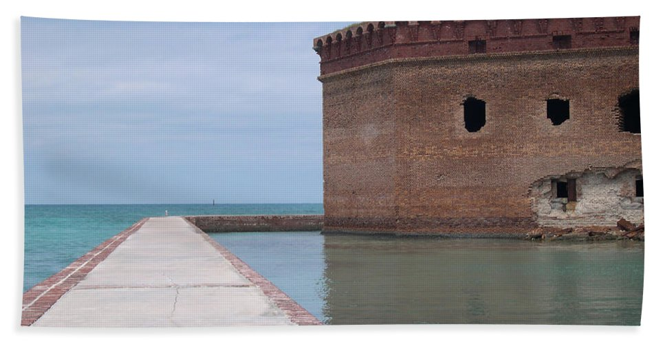 Tortuga Hand Towel featuring the photograph Canons Thunder No More by WindwardArt Galleries