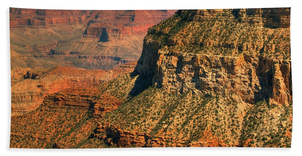 Grand Canyon Hand Towel featuring the photograph Canyon Grandeur 1 by Hany J