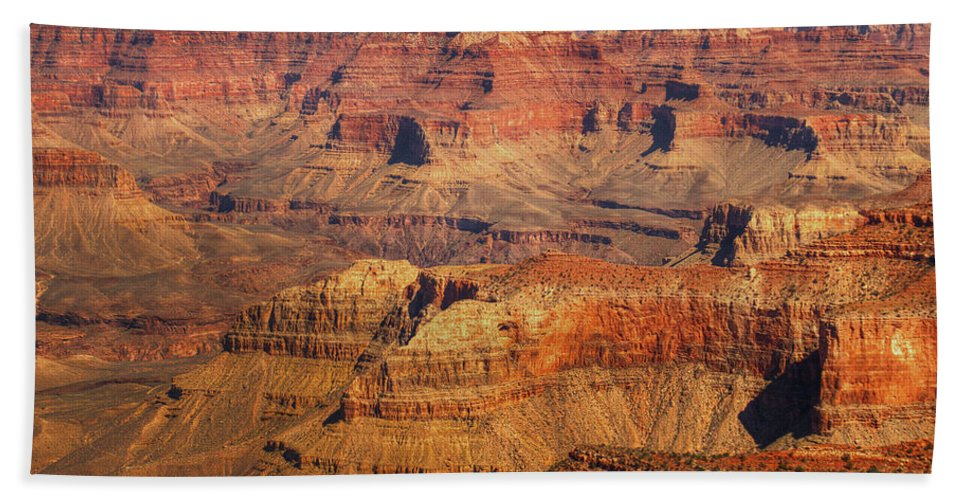 Grand Canyon Hand Towel featuring the photograph Canyon Grandeur 2 by Hany J