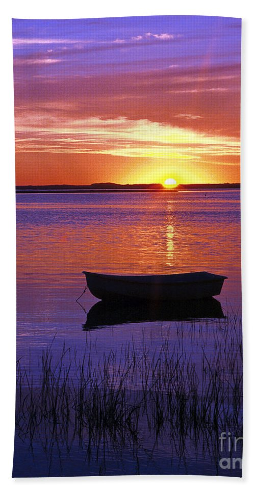 Cape Cod Bath Sheet featuring the photograph Cape Cod Sunrise by John Greim