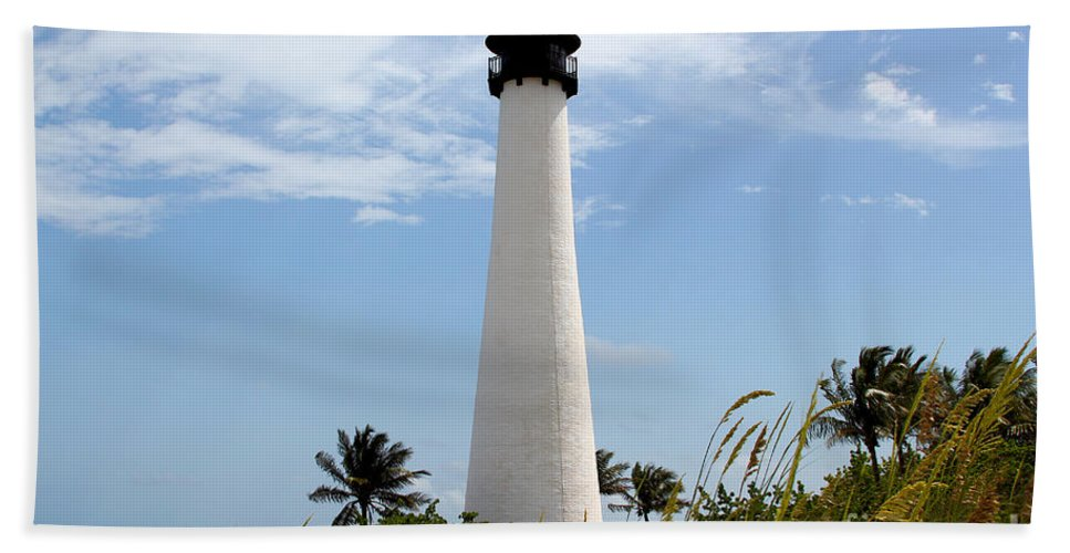 Key Biscayne Bath Sheet featuring the photograph Cape Forida by Carey Chen