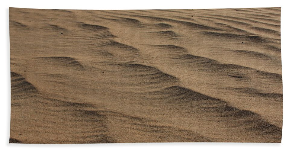 Photography Bath Sheet featuring the photograph Cape Hatteras Ripples In The Sand-north Carolina by Mountains to the Sea Photo