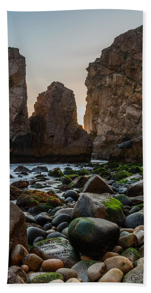 Promontory Hand Towel featuring the photograph Cape Roca I by Marco Oliveira