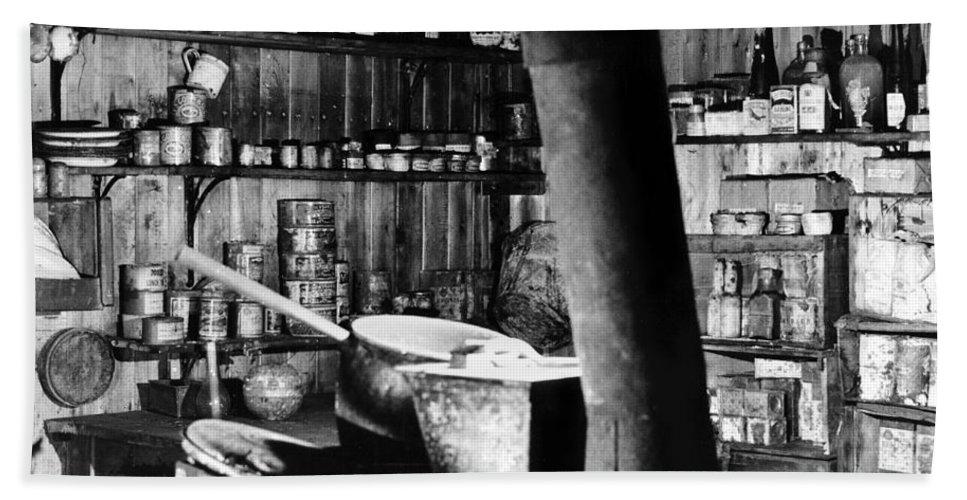 Cape Evans Bath Sheet featuring the photograph Capeevanshut-antarctica-g.punt-12 by Gordon Punt