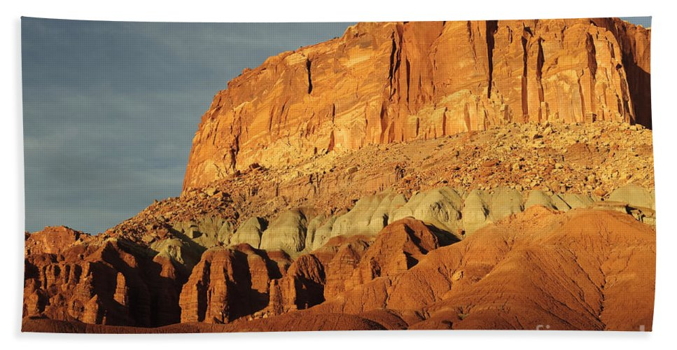 Capitol Reef Bath Sheet featuring the photograph Capital Reef National Park by John Shaw