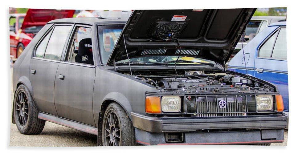 Dodge Omni Glh Bath Sheet featuring the photograph Car Show 023 by Josh Bryant