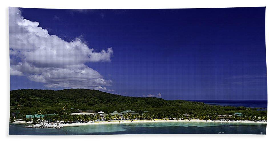 Caribbean Hand Towel featuring the photograph Caribbean Breeze Nine by Ken Frischkorn