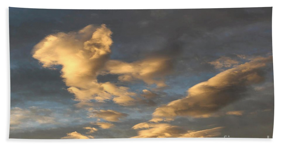 Colorado Clouds Hand Towel featuring the photograph CC1 by Jon Burch Photography