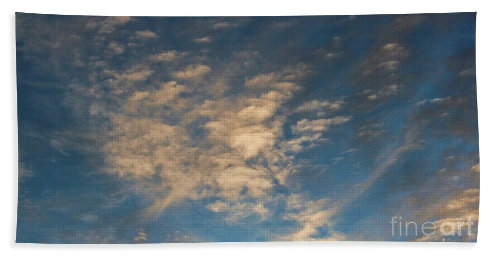 Colorado Clouds Hand Towel featuring the photograph CC4 by Jon Burch Photography