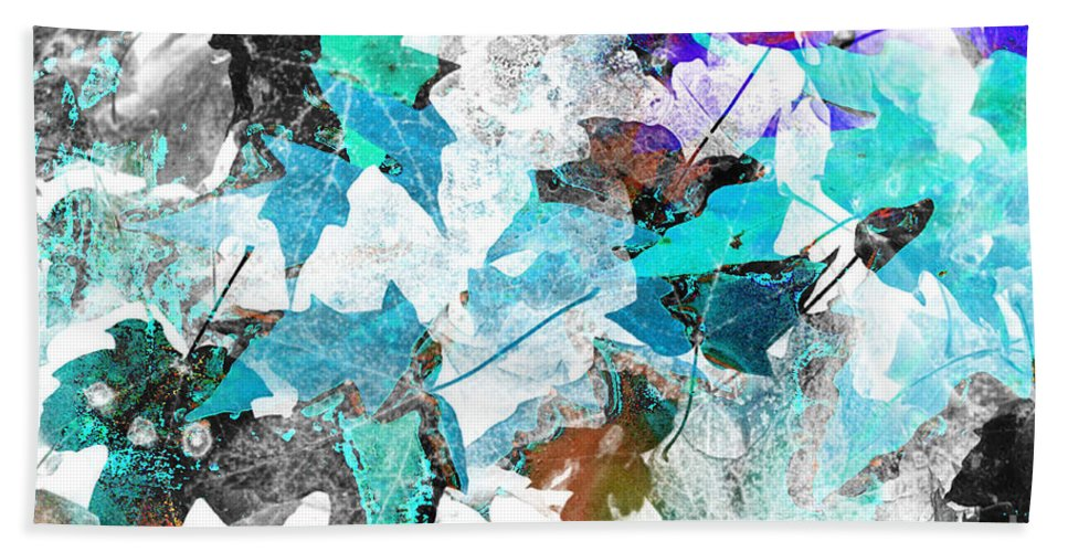 Digital Art Abstract Bath Sheet featuring the digital art Change Is On The Way by Yael VanGruber