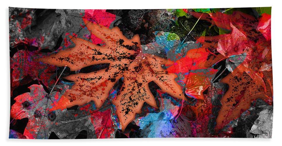 Digital Image Hand Towel featuring the digital art Change by Yael VanGruber