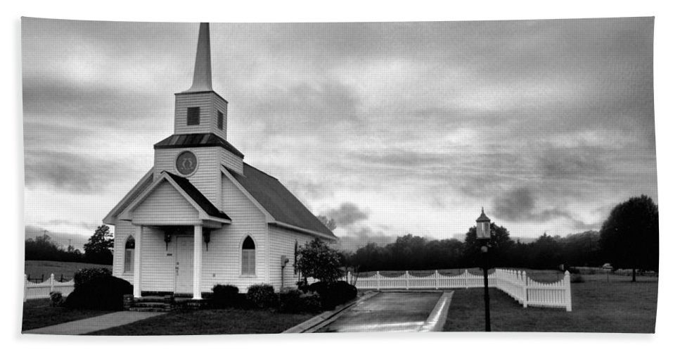 Chapel Hand Towel featuring the photograph Chapel At Four Winds In Conway Arkansas by Jason Politte