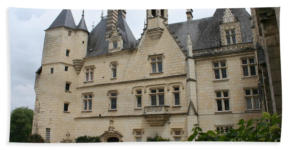 Palace Bath Sheet featuring the photograph Chateau Usse by Christiane Schulze Art And Photography