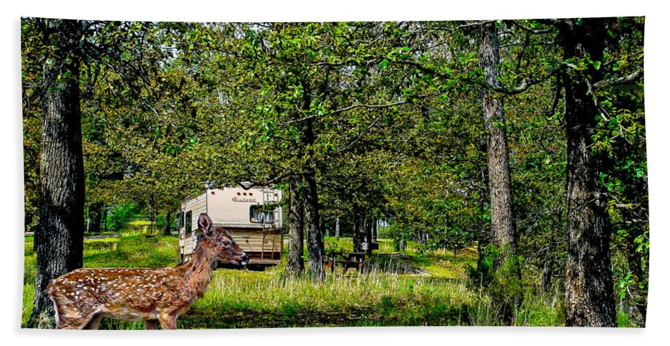 Accommodations Hand Towel featuring the photograph Cherokee Lake Thousand Trails Preserve by Bob and Nadine Johnston