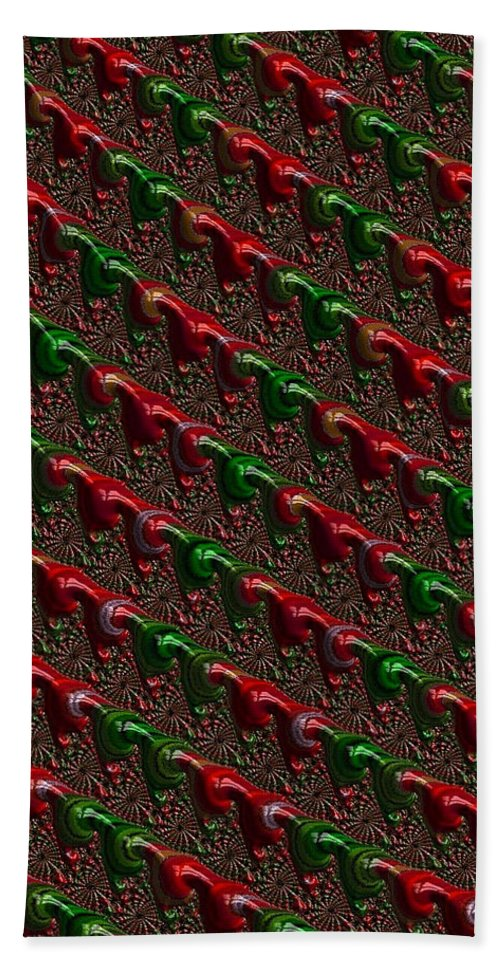 Christmas Cards Hand Towel featuring the photograph Christmas Cards And Phone Cases by Bill Owen