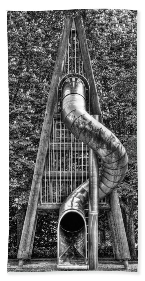Chromium Slide Bath Sheet featuring the photograph Chromium Slide by Semmick Photo