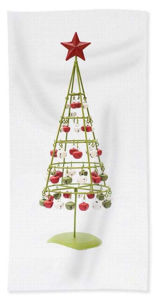 Christmas Bells Bath Sheet featuring the photograph Christmas Bells by Anne Gilbert