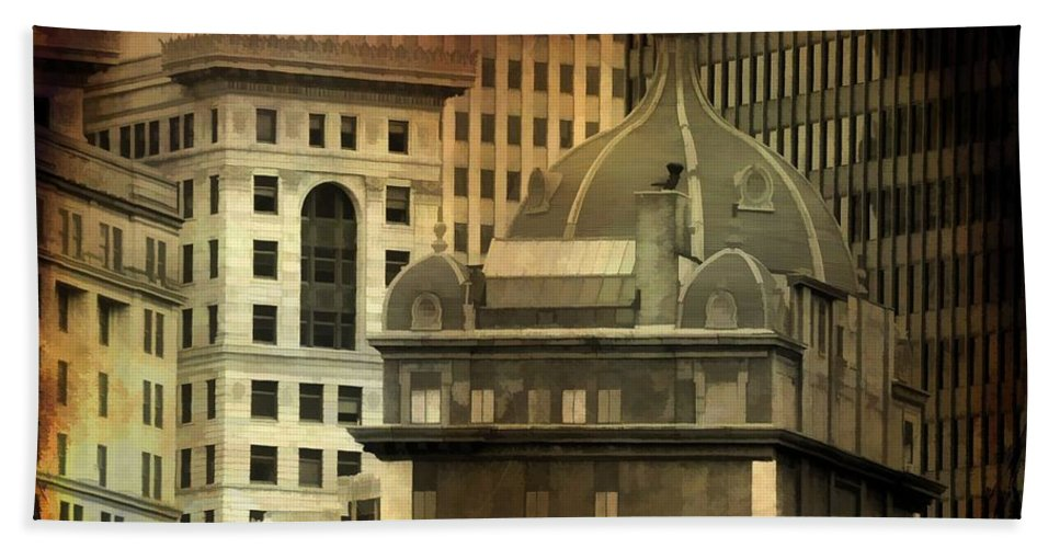 Pittsburgh Hand Towel featuring the photograph City View by Gothicrow Images