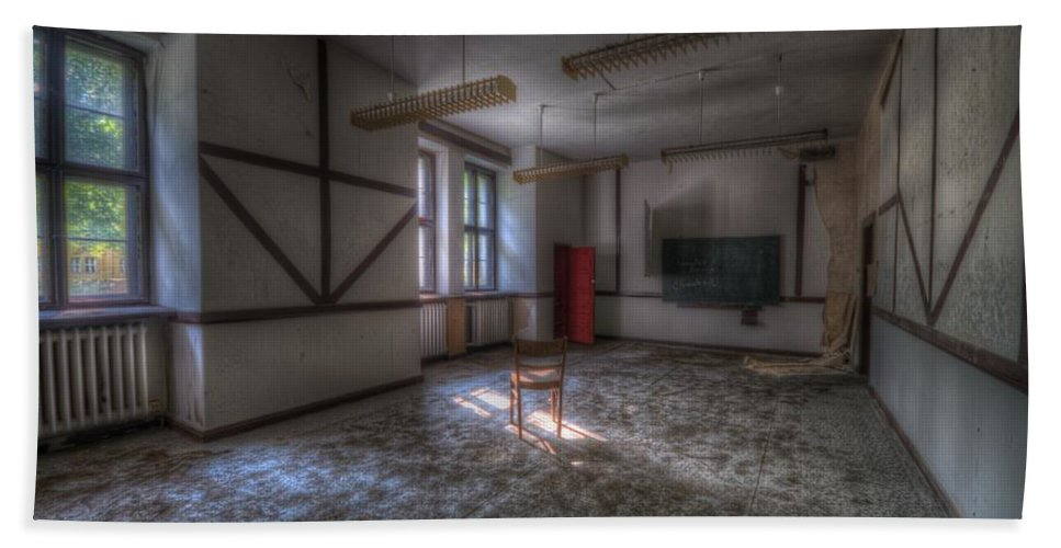 Forgotten Bath Sheet featuring the digital art Class by Nathan Wright