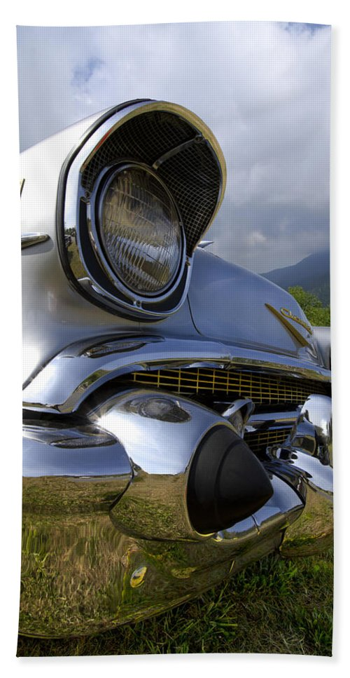 57 Bath Sheet featuring the photograph Classic Chevrolet by Debra and Dave Vanderlaan